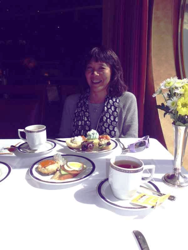 high tea at the dining room