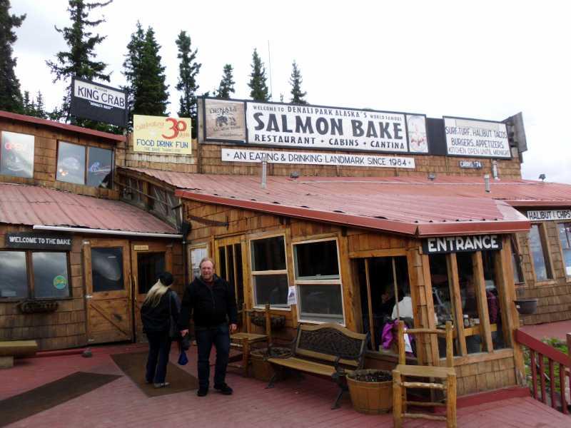 Denali Salmon Bake