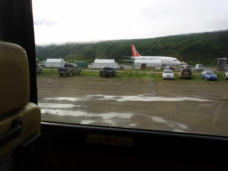 Dawson airport