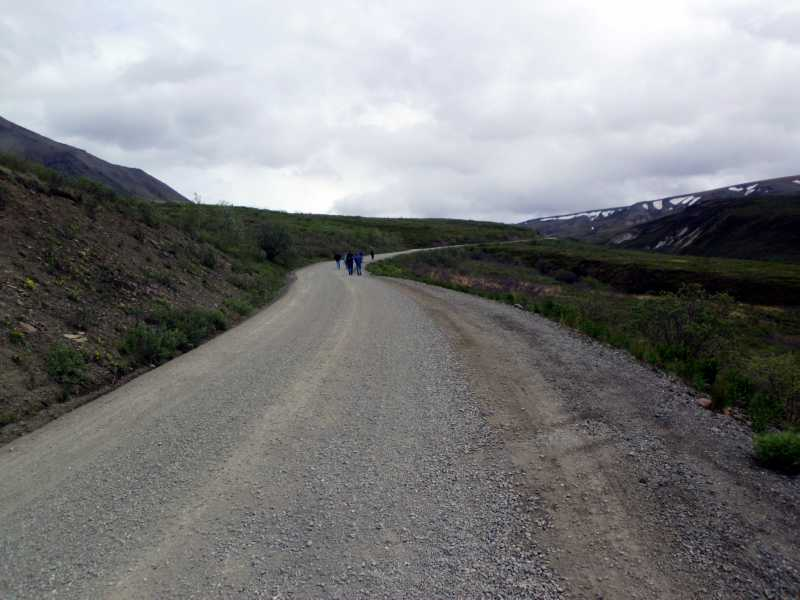 hike down the road