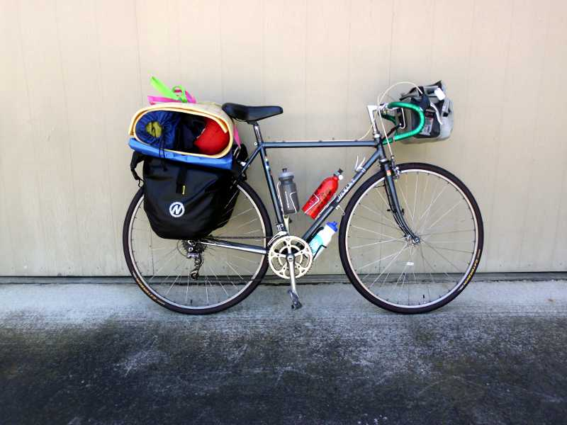 touring bike setup.