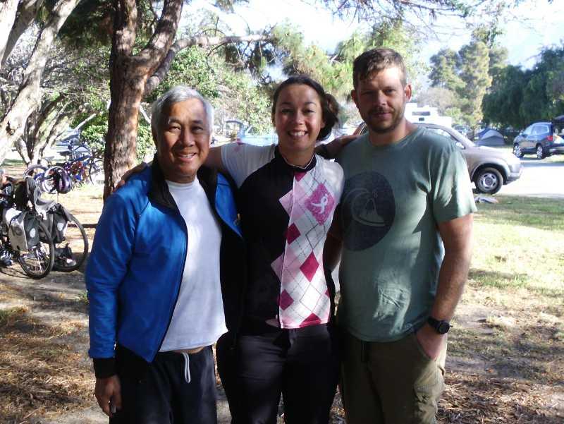 me, Deborah, and Dustin