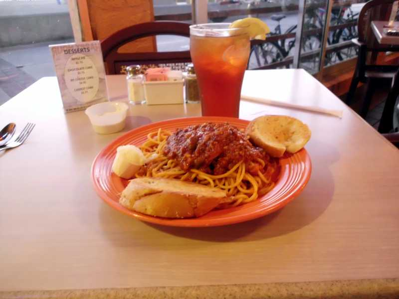 AYCE spaghetti