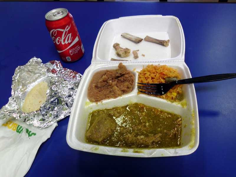 chile verde combo