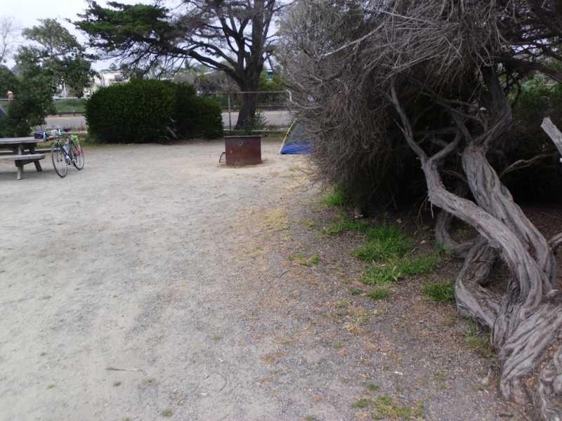 My San Elijo campsite