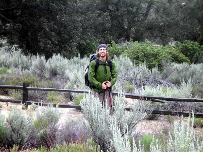 PCT hiker Soren