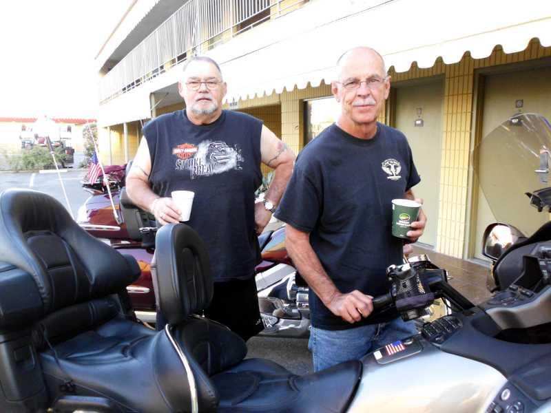 Veterans Wayne and Richard