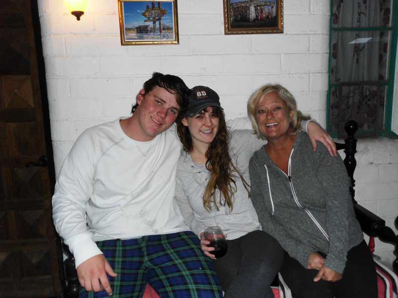 Theodore, Kat, Patti