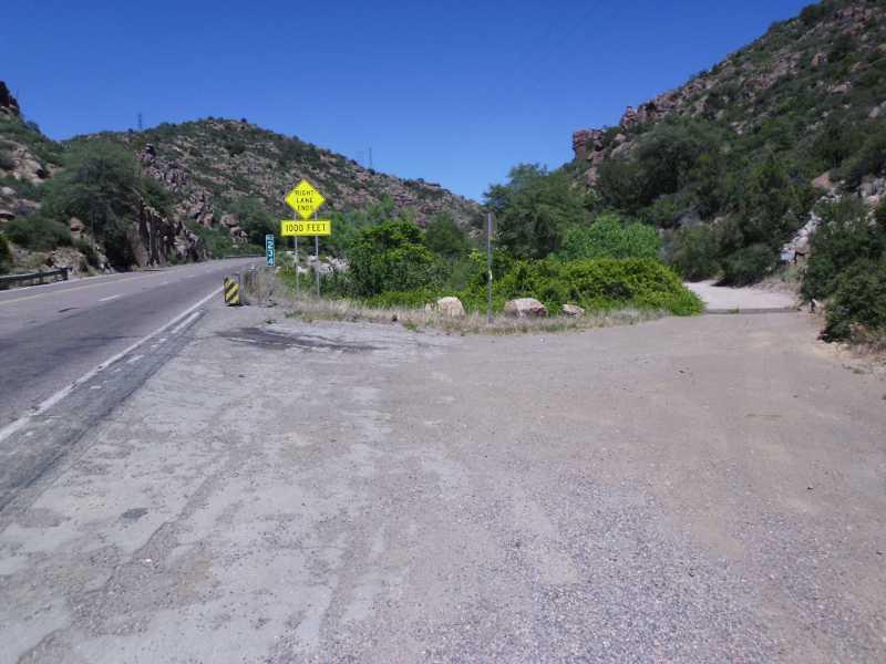 J.I. Ranch dirt road