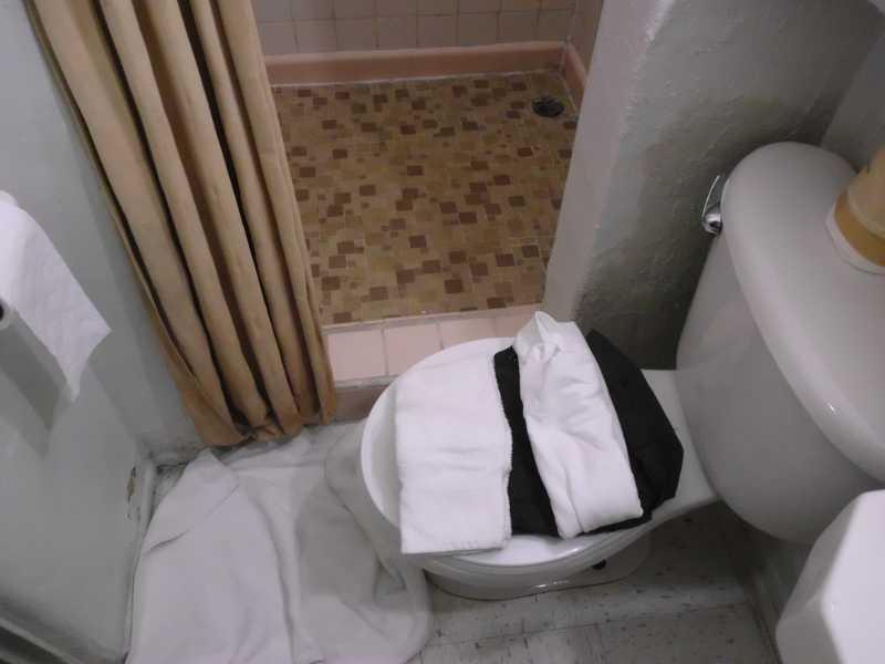 toilet placement