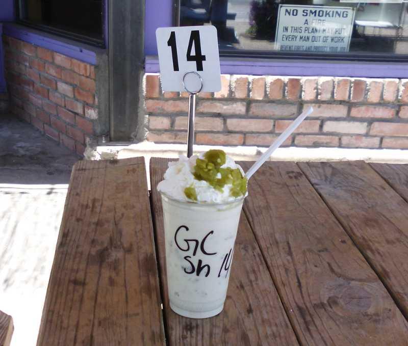 green chili shake