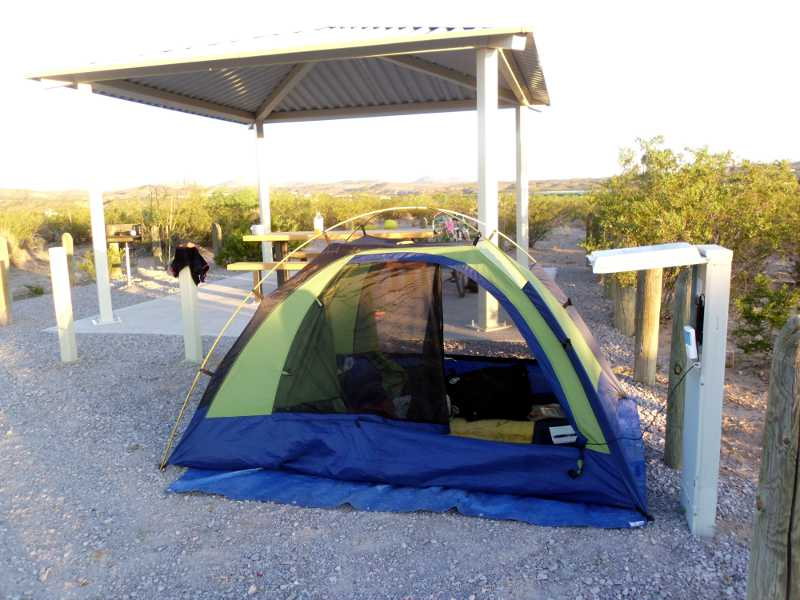 powered tent