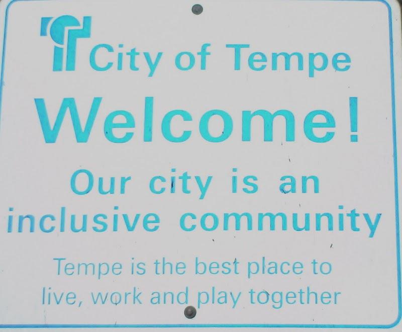 Tempe Inclusive Sign