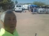 Aguila flea market