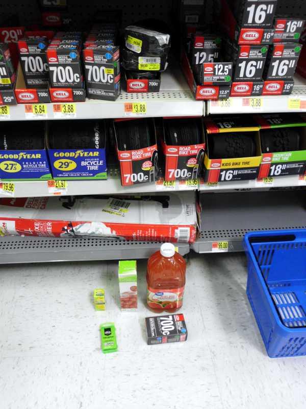 Walmart run