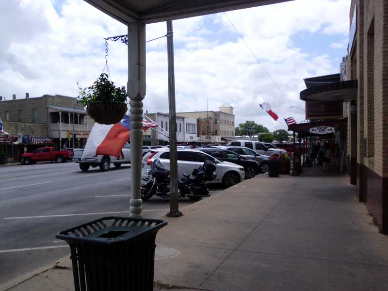 Fredericksburg downtown