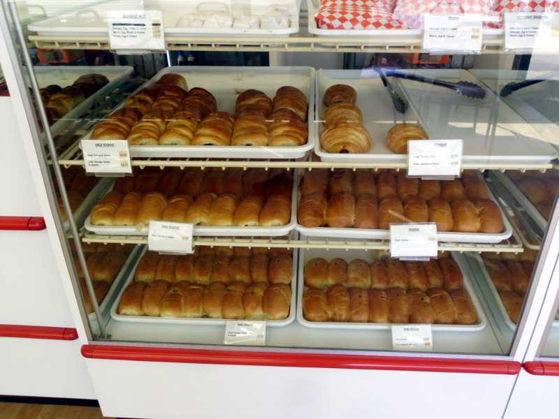 kolaches in display