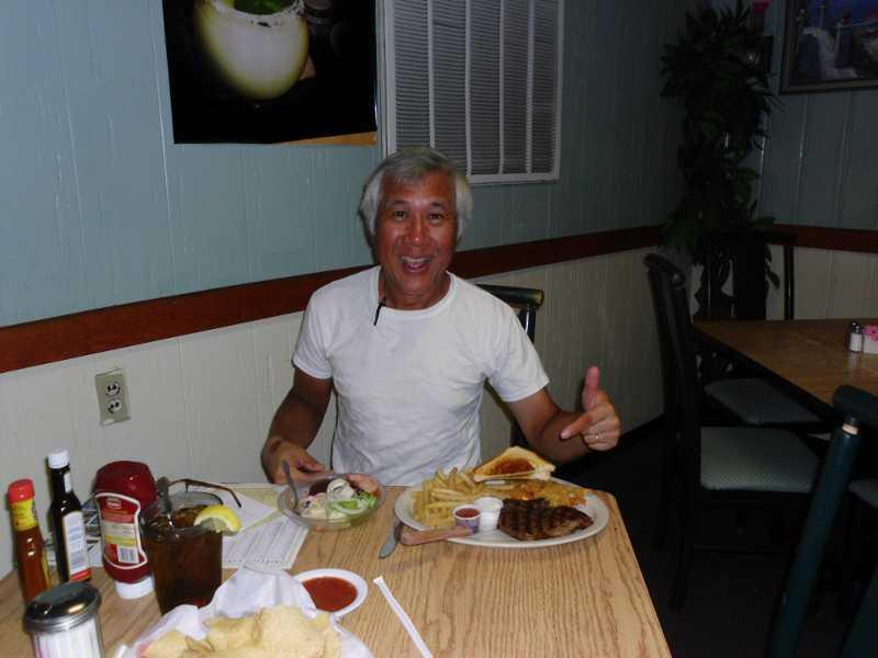 Dinner at La Miranda