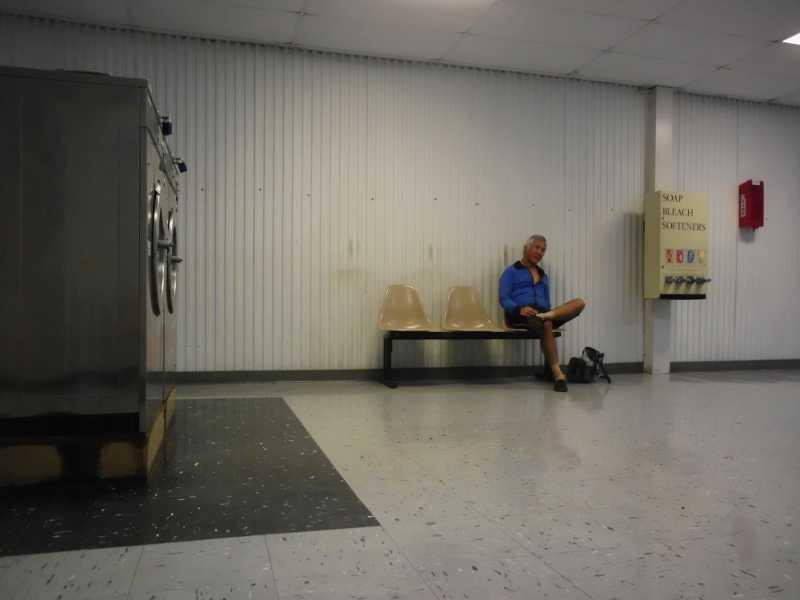 inside laundromat
