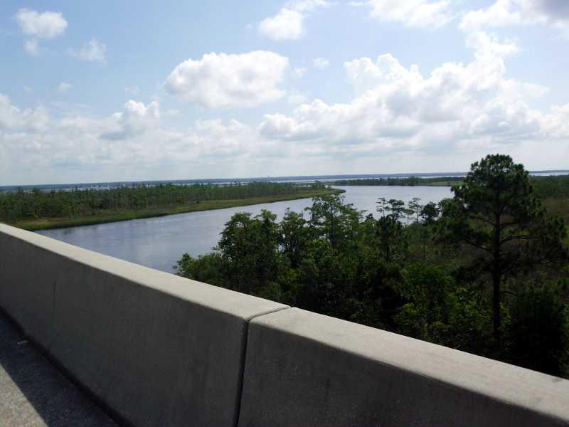 Florida water crossing