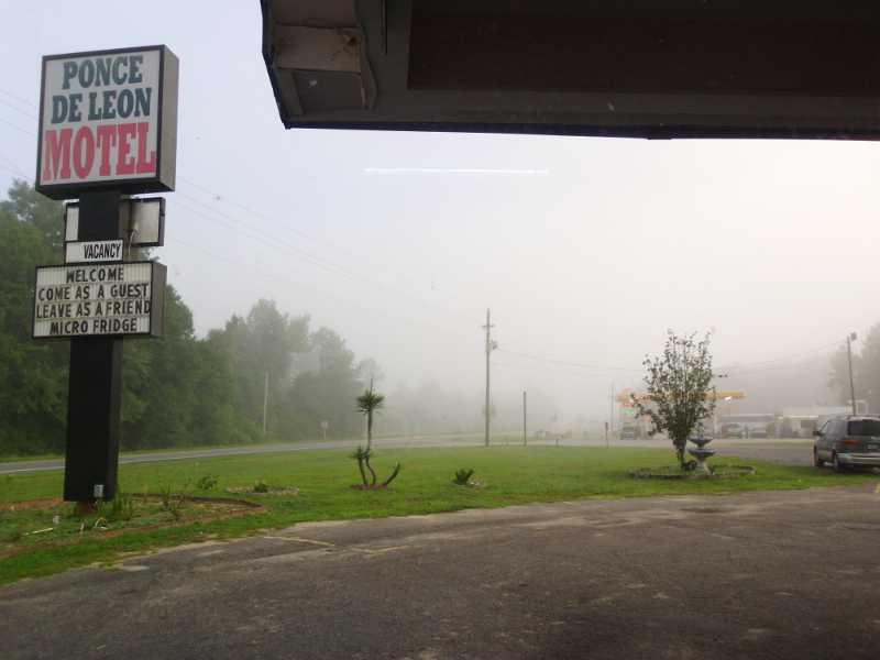 Fog at Ponce de Leon
