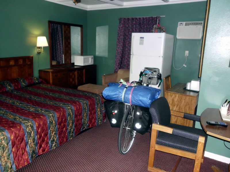 Cadillac Motel room