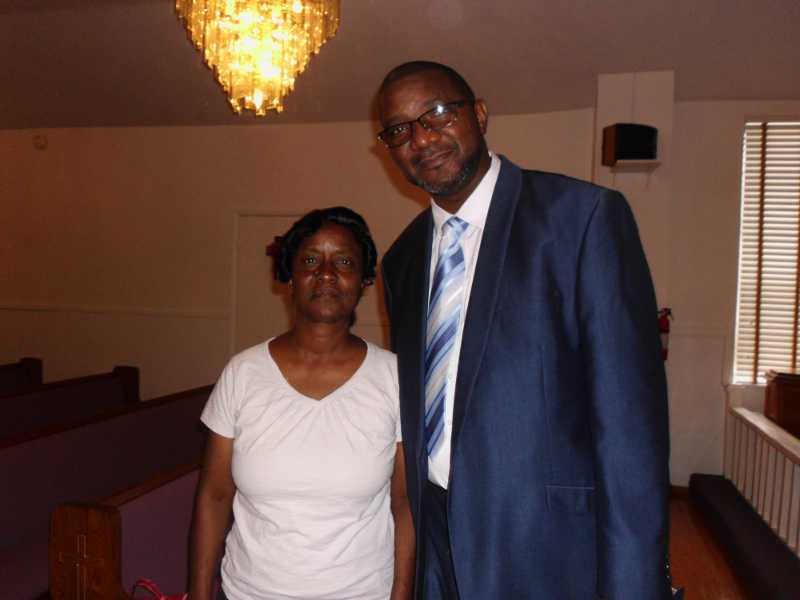 May and Pastor Morris