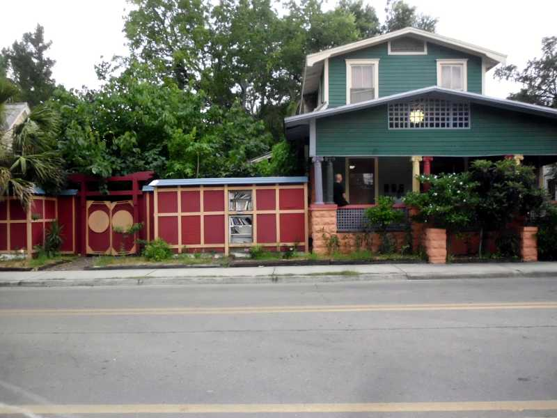 Outside Zen Hostel