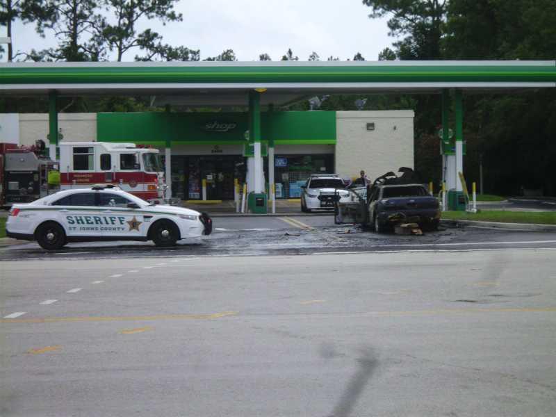 car extinguished