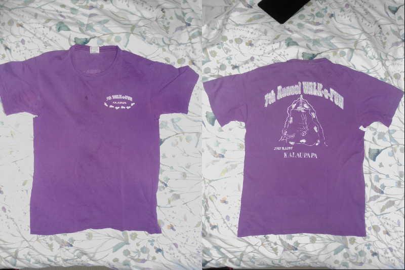 7th Annual Fun Run Kalaupapa Shirt