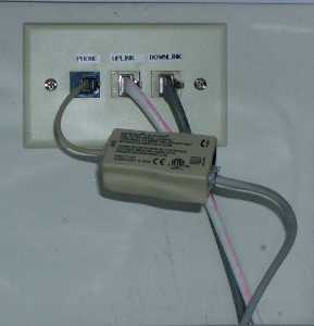 Modem-Line-w-filter Wiring A Phone Jack on