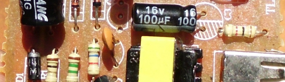 component side of power supply board