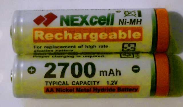 Nexcell 2700 mAh AA