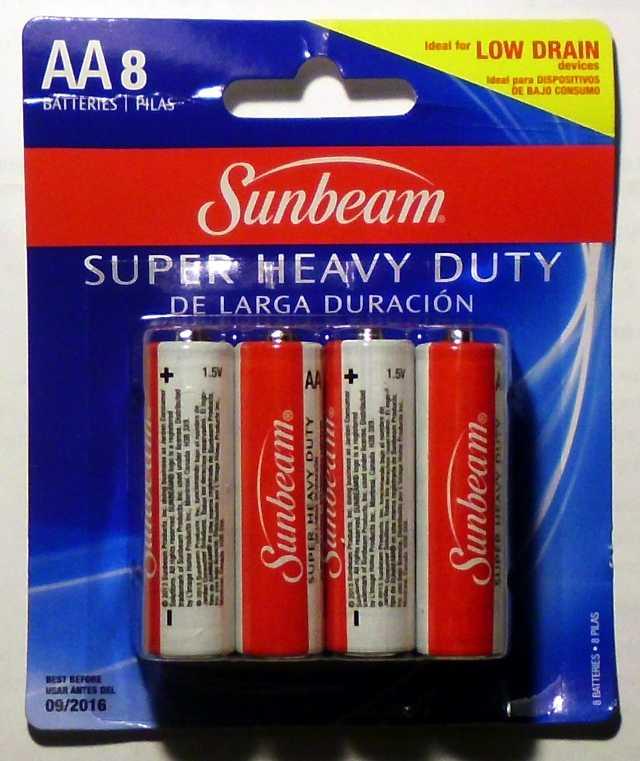 Sunbeam Carbon Zinc AA
