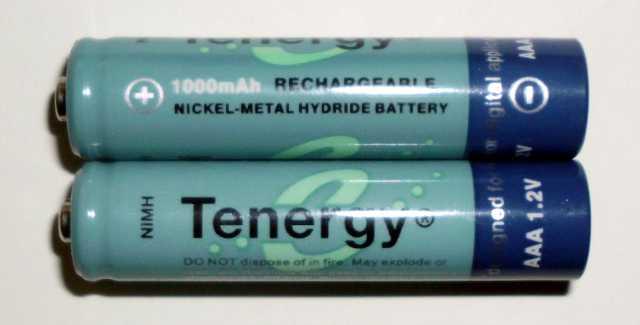 Tenergy 1000 mAh AAA