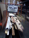 Cull Lumber Pile