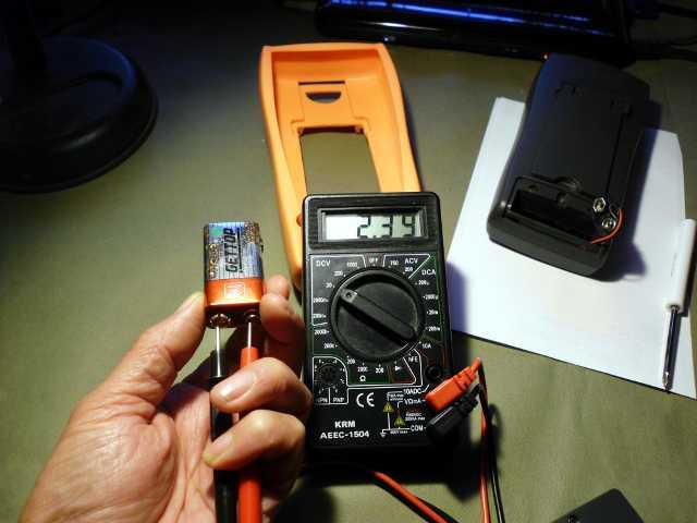 dead 9V battery