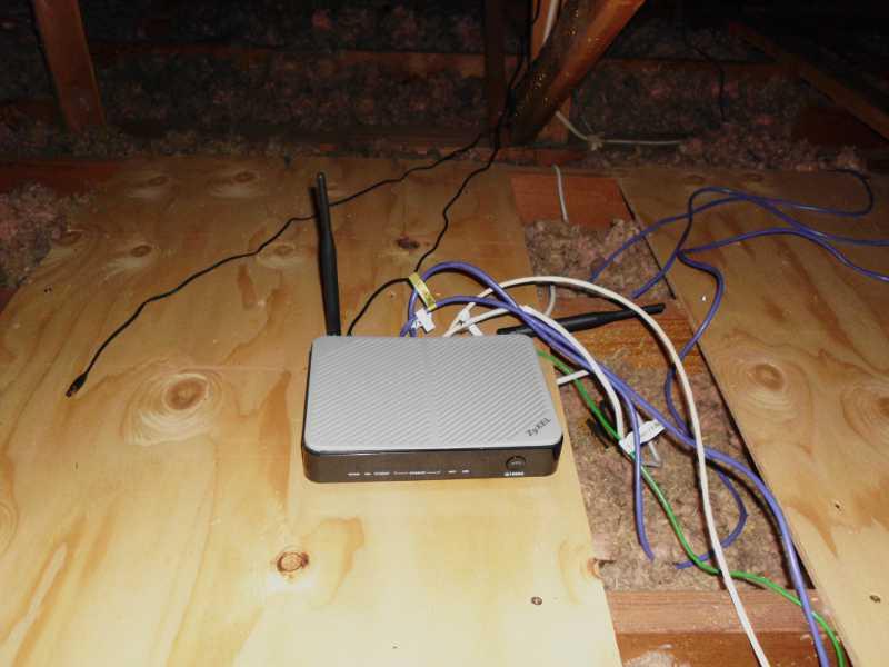 Q1000Z in attic