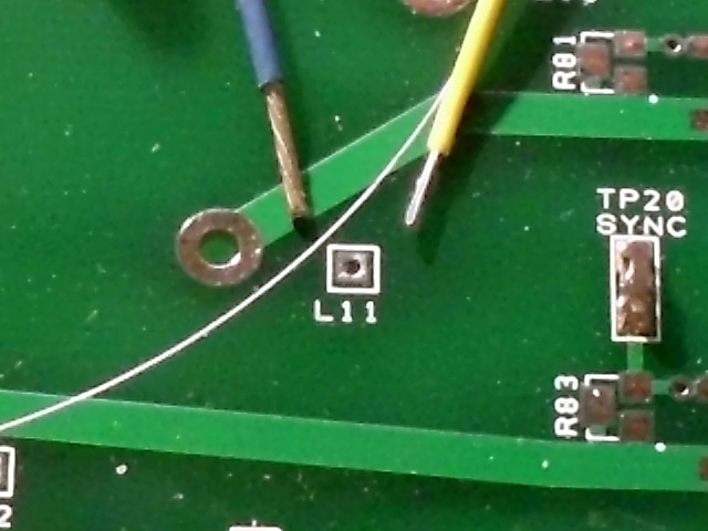 PCB hole AWG wire