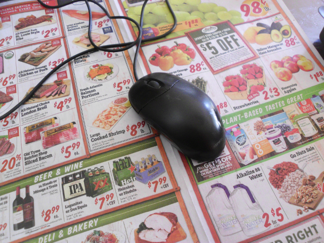 Gateway optical mouse